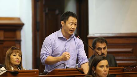 Kenji Fujimori afirma que Fuerza Popular quiere perpetuarse en la mesa directiva del Congreso
