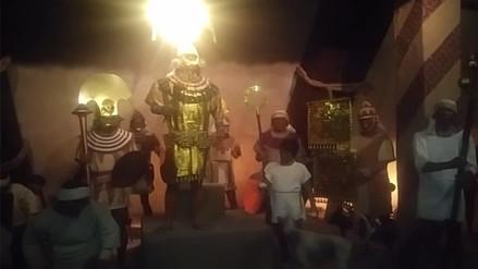 Alistan exposición del Señor del Sipán en museo nacional de La India