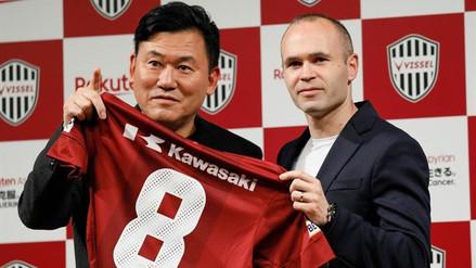 Andrés Iniesta firmó por el Vissel Kobe de la J-League