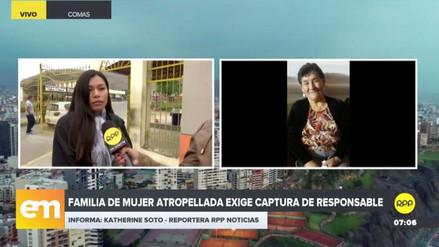 Una anciana quedó en coma tras ser atropellada por un automóvil en Carabayllo