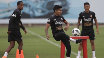 Selección Peruana recibió a Miguel Trauco en el decimocuarto entrenamiento