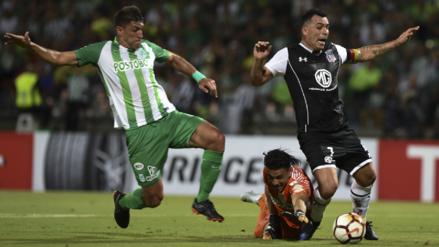 Atlético Nacional y Colo Colo empataron para avanzar juntos a octavos de la Libertadores