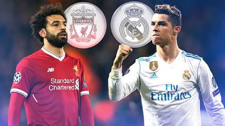 Salah vs CR7, duelo de goleadores en la final de Champions League