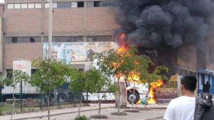 Vecinos de El Agustino se oponen a instalación de una antena