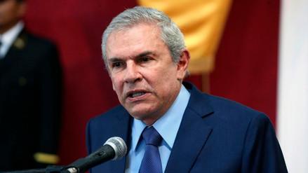 Luis Castañeda negó haber tenido participación en la concesión del proyecto Línea Amarilla