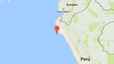 Un sismo de 4.3 grados sacudió Piura esta mañana