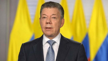 Juan Manuel Santos anunció que Colombia ingresará a la OTAN