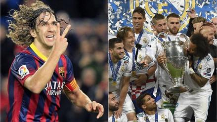 """Carles Puyol felicitó al Real Madrid y dijo que el Barcelona debe """"reflexionar"""""""