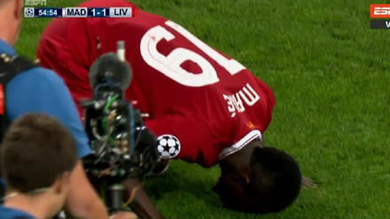 Sadio Mané puso la paridad en la final de Champions League en este córner