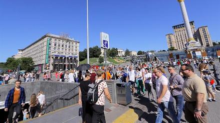 Reabrieron las estaciones del metro de Kiev tras falsa alarma de bomba