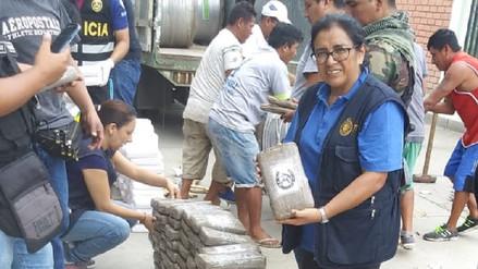 Decomisan 768 kilos de marihuana que era trasladada de Ecuador a Chile