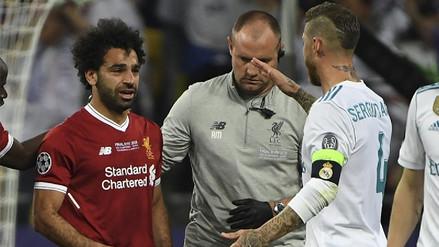 Sergio Ramos envió mensaje a Mohamed Salah tras la final de la Champions League