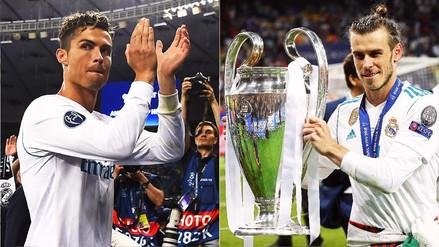 Cristiano Ronaldo y Bale ponen en duda su futuro en el Real Madrid tras ganar la Champions