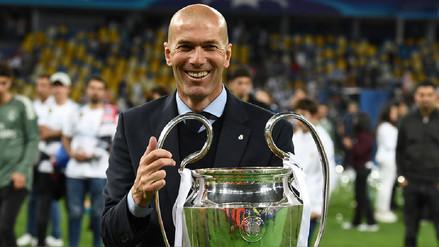 Zidane tras ganar otra Champions League: