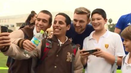 Federación Escocesa destacó admiración de niños peruanos por sus seleccionados