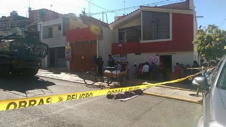 Panadero muere atropellado por camión cisterna de la municipalidad de Socabaya