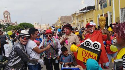 Ferreñafe: así celebraron el día del payaso peruano