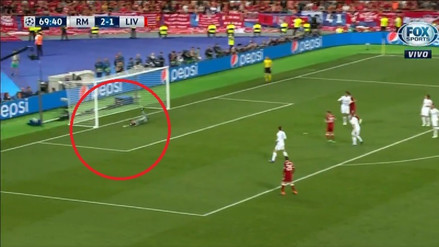 El tiro al palo de Sadio Mané que casi empata al Real Madrid en la final de la Champions