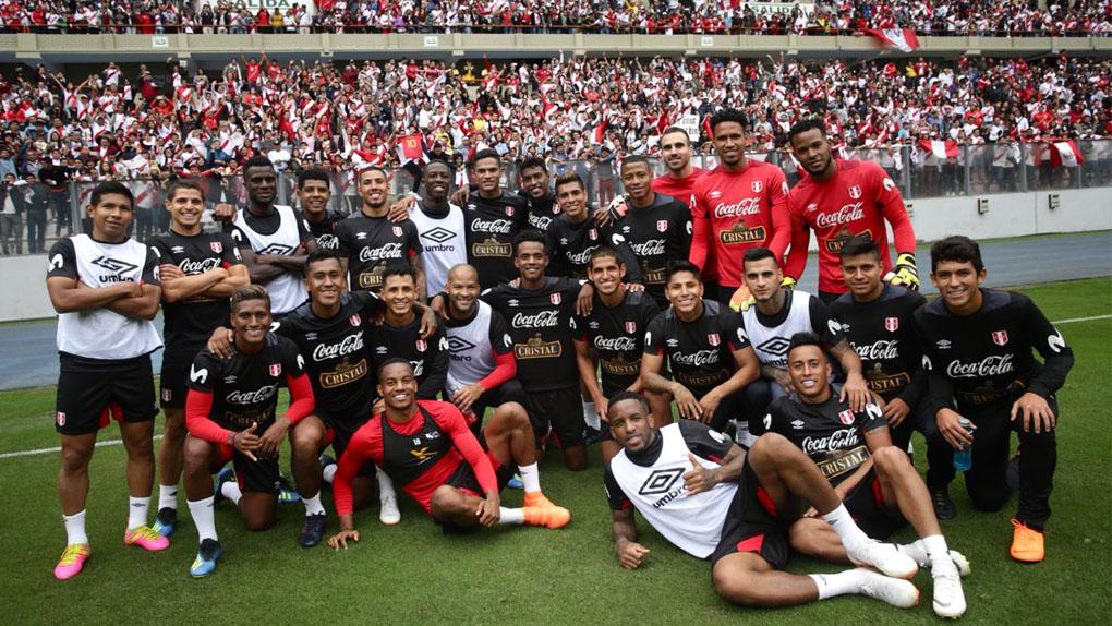 Selección Nacional culminó su último entrenamiento abierto al público en el Nacional