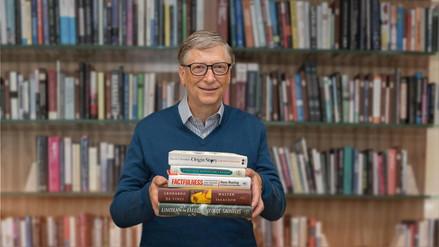 Los 5 libros que Bill Gates recomienda leer antes de fin de año