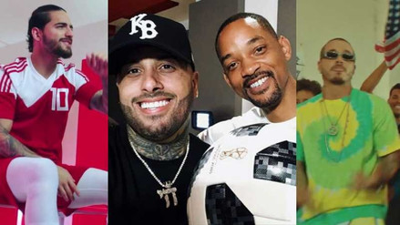 De Maluma a Will Smith: todas las canciones inspiradas en Rusia 2018