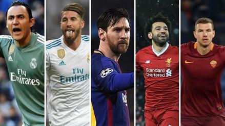UEFA eligió el plantel de la Champions League 2017/2018