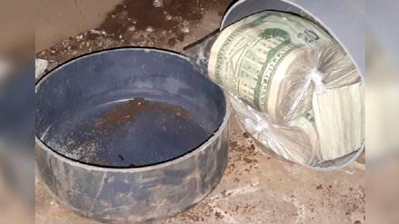 Pandillero de la Mara Salvatrucha tenía enterrados más de US$ 160 mil en su casa