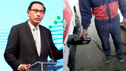 Martin Vizcarra anuncia que pondrán en revisión aumento del ISC a combustibles