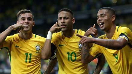 Brasil, el equipo '5 estrellas' que buscará conquistar Rusia 2018