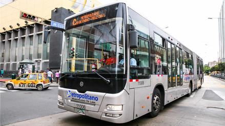 Metropolitano ampliará su servicio por el partido Perú vs. Escocia