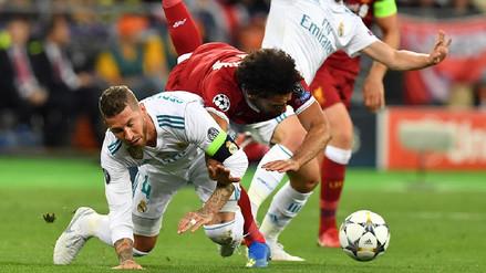 Sergio Ramos será demandado por un abogado egipcio por lesionar a Mohamed Salah