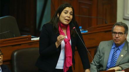 Úrsula Letona: Kenji Fujimori, Bocangel y Ramírez deben irse del Congreso