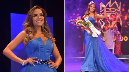 Como Miss Perú Mundo 2018, Estefani Mauricci quiere conseguir el empoderamiento de la mujer peruana. | Fuente: Miss Perú Mundo