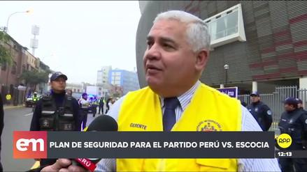 Perú vs. Escocia: Vías de acceso al Estadio Nacional estarán cerradas desde el mediodía