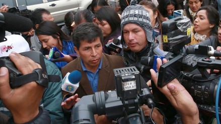 Pedro Castillo anunció inicio de huelga de profesores para este 18 de junio