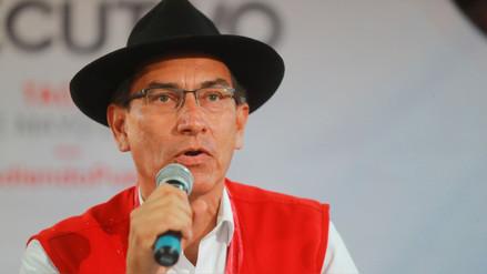"""Vizcarra dijo que es """"absolutamente comprensible"""" que haya caído su aprobación"""