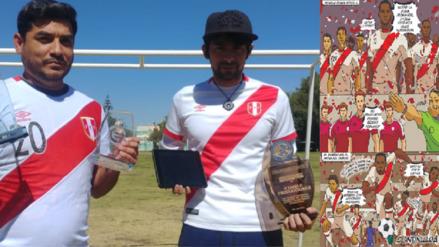 Jóvenes arequipeños crean cómic en homenaje al hincha y la Selección Peruana