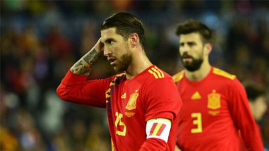 Crean campaña pidiendo que Sergio Ramos no sea el capitán de España en Rusia 2018