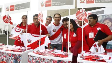 """Rusia 2018: Gobierno lanzó campaña """"Guerreros Mype"""" para vender 200 mil camisetas de Perú"""