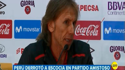 Gareca sobre el Mundial: Vamos a tratar de devolver el cariño que el hincha peruano nos demuestra