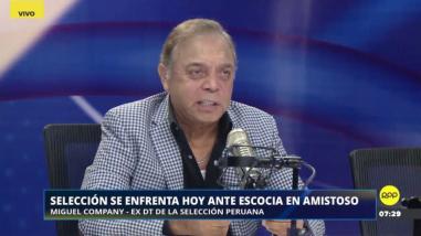 """Miguel Company: """"Perú no tiene 'fantásticos' en el campo, ni 'magos' en el banco"""""""