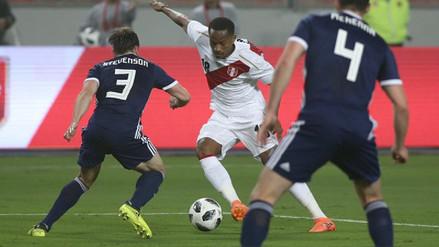 Perú se despidió de su hinchada con un buen triunfo frente a Escocia