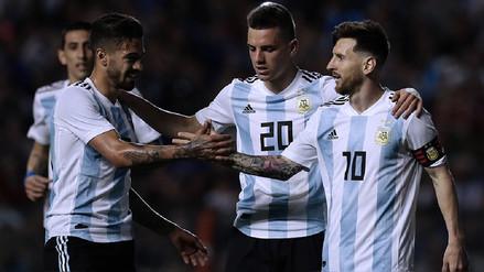 Argentina goleó a Haití en La Bombonera con triplete de Lionel Messi