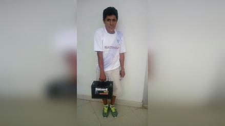 Chiclayo: por enésima vez detienen a hombre robando baterías de vehículos