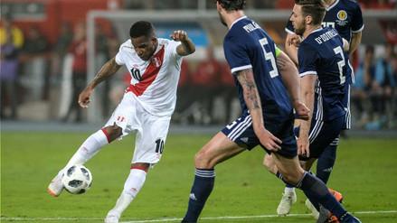 Mira los goles de la victoria por 2-0 de Perú sobre Escocia