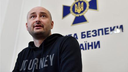 Perfil | Arkadi Babchenko, el reportero ruso que 'regresó de la muerte'
