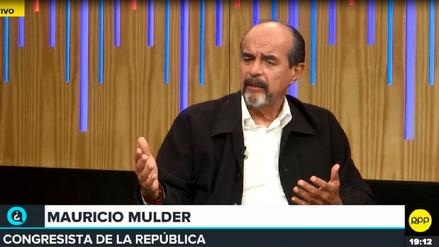 Mulder sobre caso de ministra La Rosa: Vizcarra tiene que resolver este tema o la interpelamos