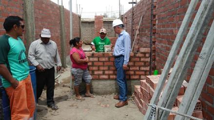 Damnificados lambayecanos recibirá 4 200 módulos de vivienda definitiva