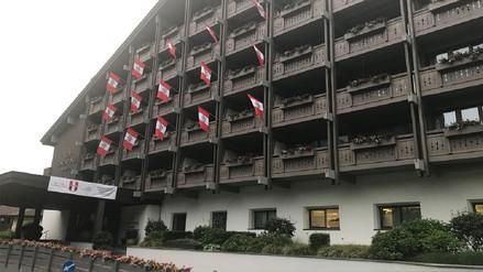 Hotel de Austria ya espera por la Selección Peruana con estos detalles