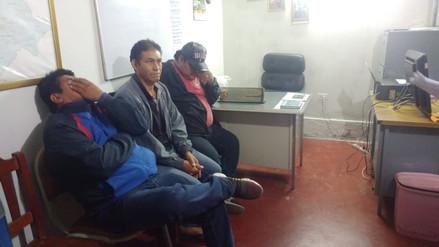 Hombres detenidos por transportar ilegalmente 8 toneladas de carbón